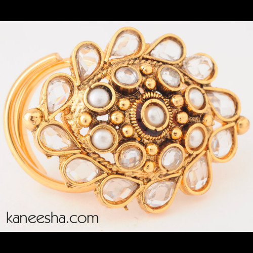 Traditional Oblong Fashion Ring