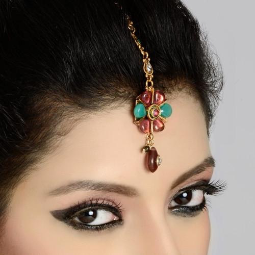 Forehead Tikka in Elegant Colored