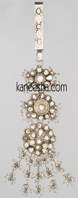 Rhodium Polished Decorative Keychain