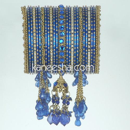 Royal Blue Fashion Bangles