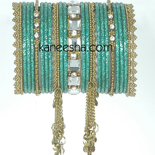 Sky Blue Indian Fashion Bangles