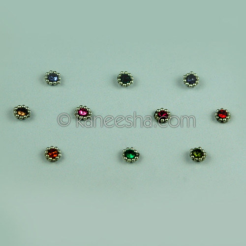 Bridal Multi Color Bindis (Dots)