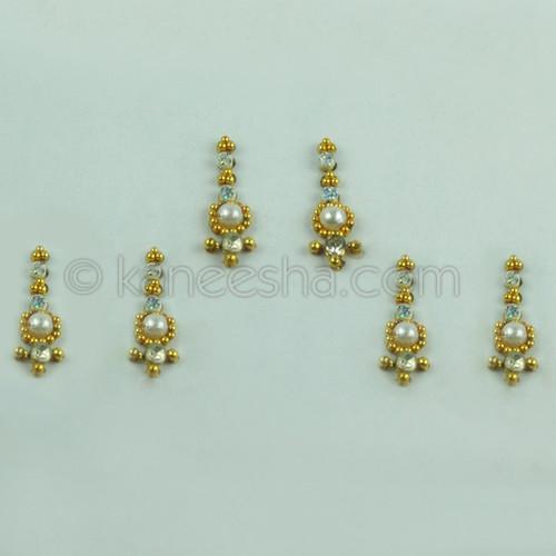 Golden Jeweled Bindi