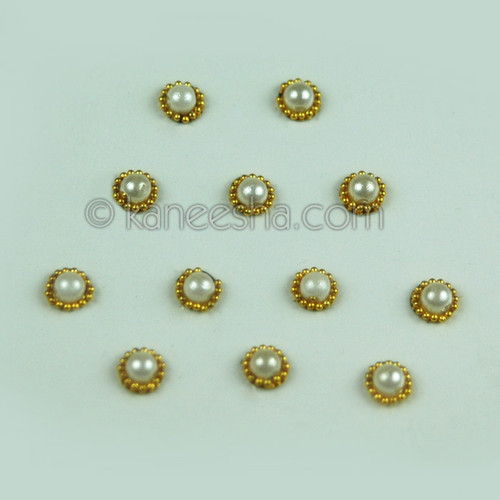 Pearl Fancy Bindis (Dots)