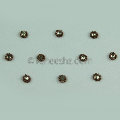 Delicate Multi Color Bindis (Dots)