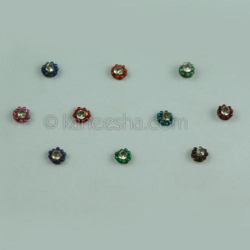 Bindis Delicate Multi Color (Dots)