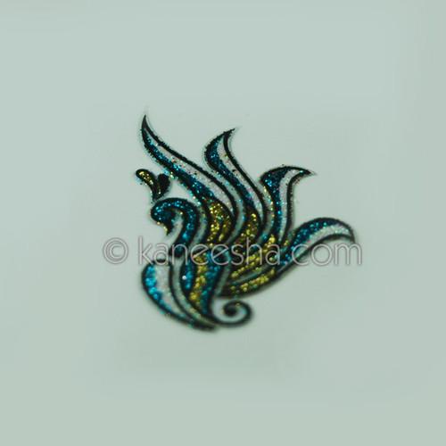 Dancing Peacock Tattoo
