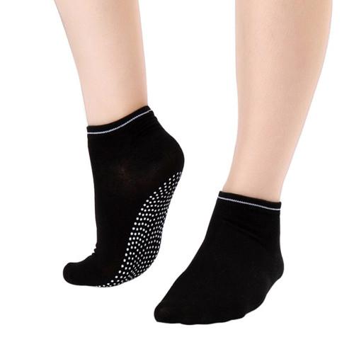 6 Pair Black Yoga Socks  Gripper Socks Ideal for Dance, Fitness No Slip, Non Skid Socks FREE Shipping.