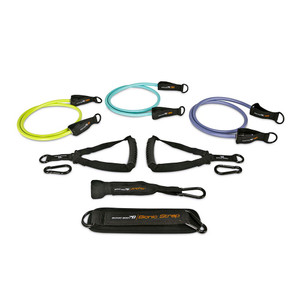The Bionic Body Resistance Band Kit includes three different resistance bands to optimize your workout