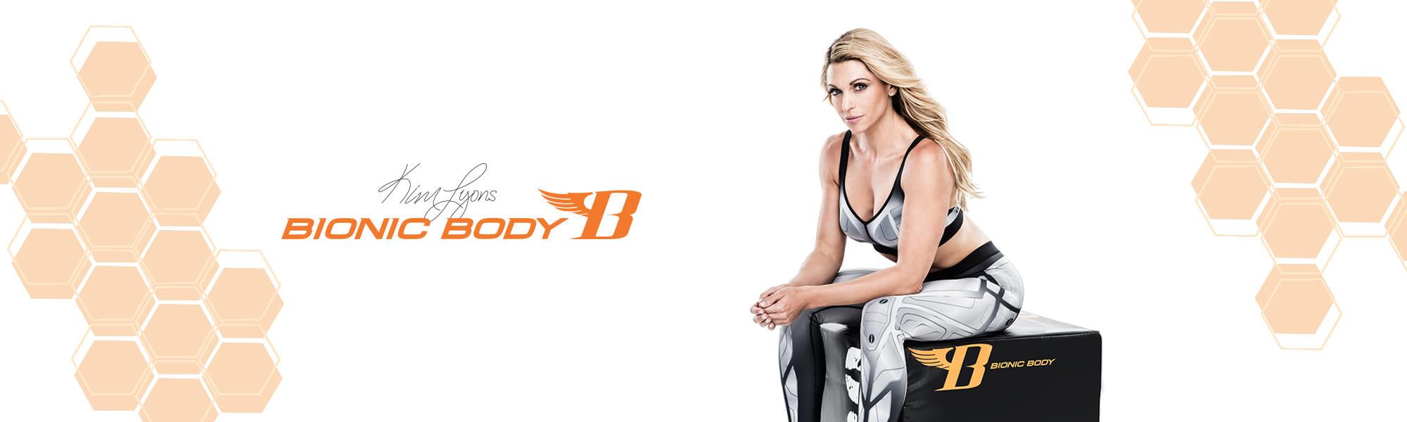 Bionic Body Gear - Kim Lyons with Plyo Box