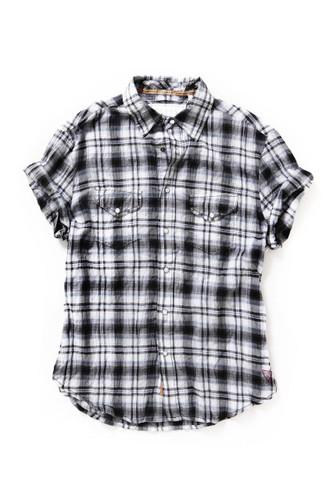 [Sample] Gant, mens casual BW check shirt