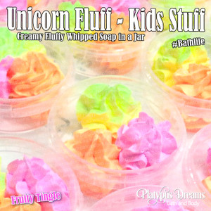 Unicorn Fluff - Whipped Cream Soap 28g