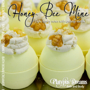 Honey Bee Mine - Bath Bomb Creamer 170g