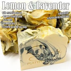 Lemon & Lavender Gourmet Soap