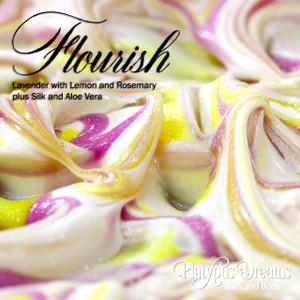 Flourish Gourmet Soap - Essential oils