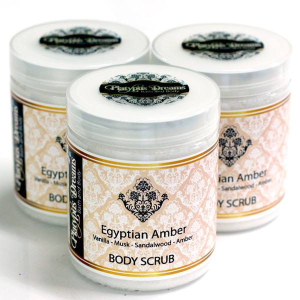 Egyptian Amber Sugar Scrub