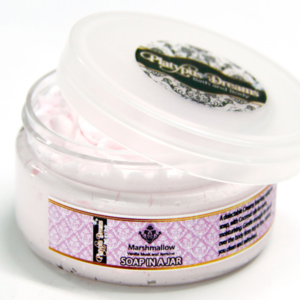 Marshmallow - Whipped Soap in a Jar