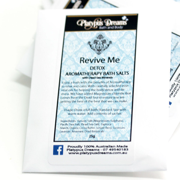 Aromatherapy Goatsmilk Bath Salt Sachet