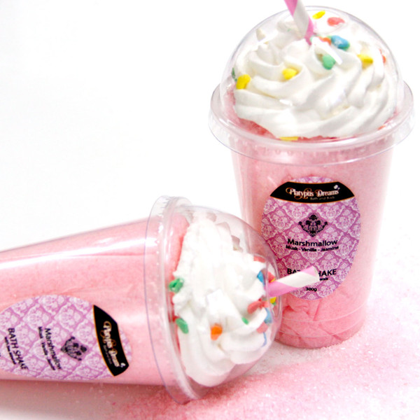 Marshmallow Bath Salt Shake