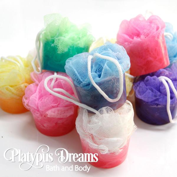 Bath Pouf Soap