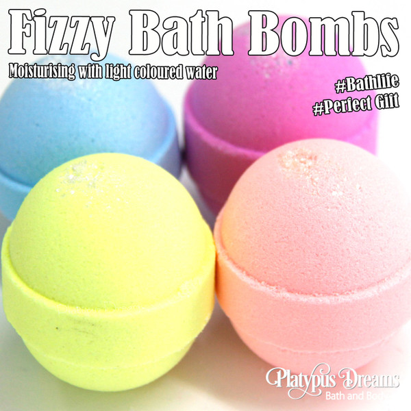 Fruity Fizzy Bath Bomb Gift Box 4 Pack - 300g