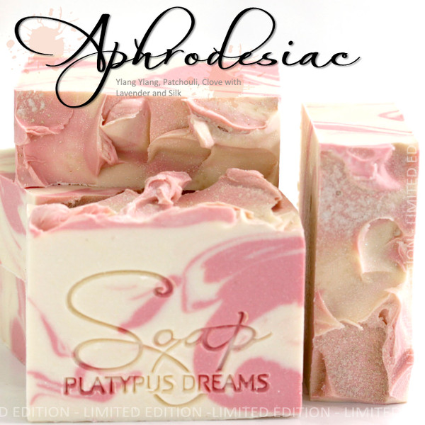 Aphrodesiac Gourmet Soap Limited Edition