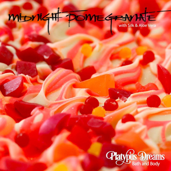 Midnight Pomegranate Gourmet Soap