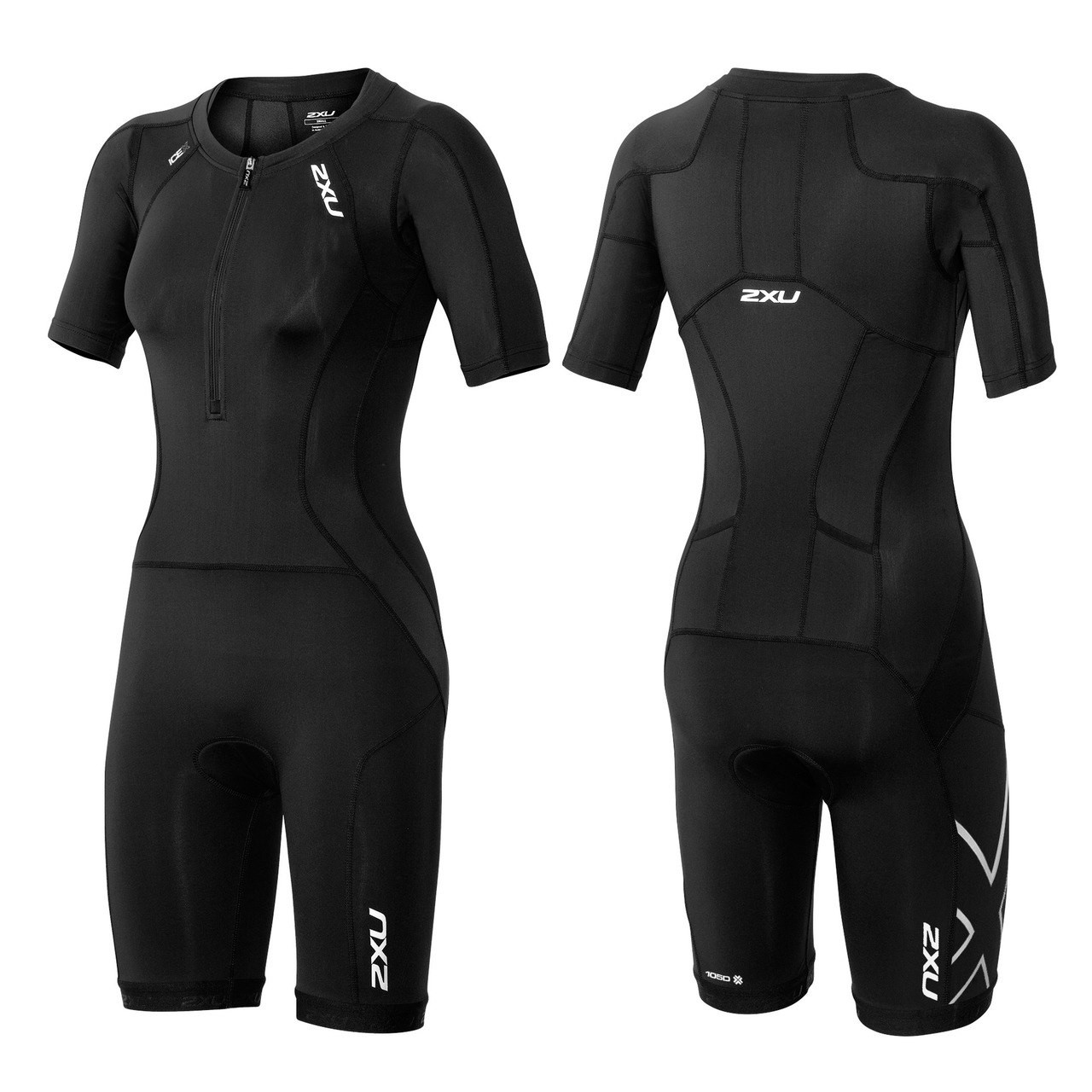 2xu Women S Compression Sleeved Tri Suit 2016