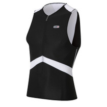 Louis Garneau Men's Pro Sleeveless Semi-Relax Tri Top