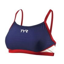 TYR Women's Carbon Thin Strap Tri Top
