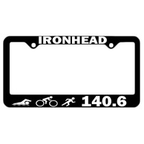 Triathlon License Plate Frames
