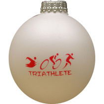 Triathlete Christmas Ornament