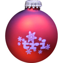 Tri Snowflake Christmas Ornament - 2019