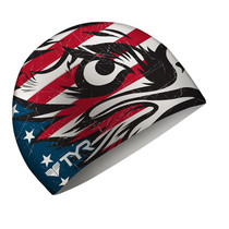 TYR Patriot Silicone Swim Cap - 2016