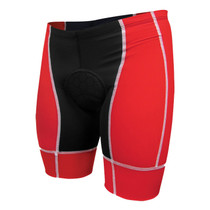 DeSoto Men's Forza Tri Short - Low Cut - Red/White