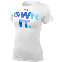 TYR Women's Triathlon Own It T-Shirt - 2015