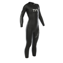 TYR Women's Hurricane Category 1 Full Sleeve Wetsuit - 2019