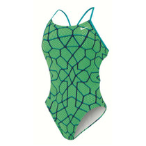 Nike Women's Starglass Cut-Out Tank Swimsuit - 2016