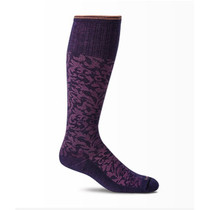 Sockwell Women's Damask Moderate Compression Sock