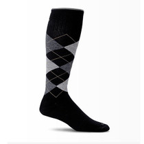 Sockwell Men's Argyle Moderate Compression Sock