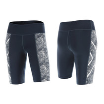 2XU Women's Vein PTN Mid-Rise Compression Shorts