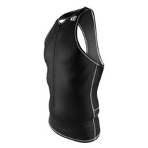 DeSoto Men's Liftfoil3 Swim Skin Tri Top - Black