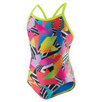 Speedo Women's Zap Attack Flipturns Propel Back Swimsuit