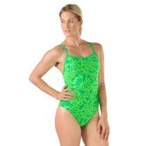 Speedo Women's Flowerista Flyback Swimsuit - 2017