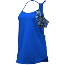 TYR Women's Edessa Shea 2 in 1 Swim Tank
