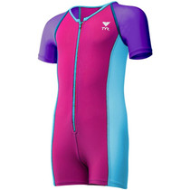 TYR Girls Solid Thermal Swim Suit