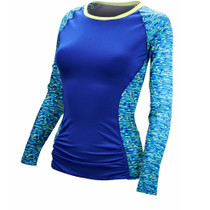 TYR Women's Napa Long Sleeve Rashguard - 2018