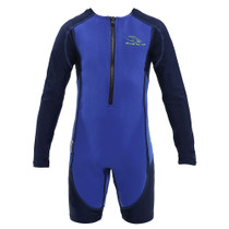 Aqua Sphere Kid's Stingray HP Core Warmer Long Sleeve Swimsuit - 2018