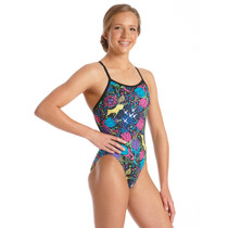 Amanzi Girls Wild Aster One Piece Swimsuit - 2018
