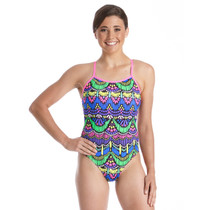 Amanzi Women's Persian Jewel One Piece Swimsuit